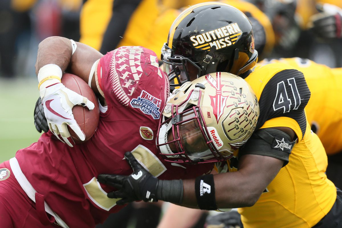 NCAA Football: Independence Bowl-Southern Mississippi vs Florida State