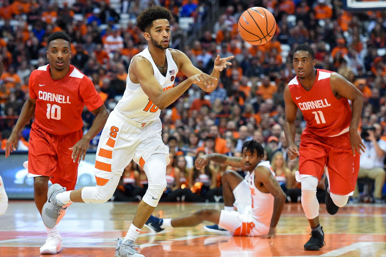 Syracuse Basketball Vs Iona Five Things To Watch