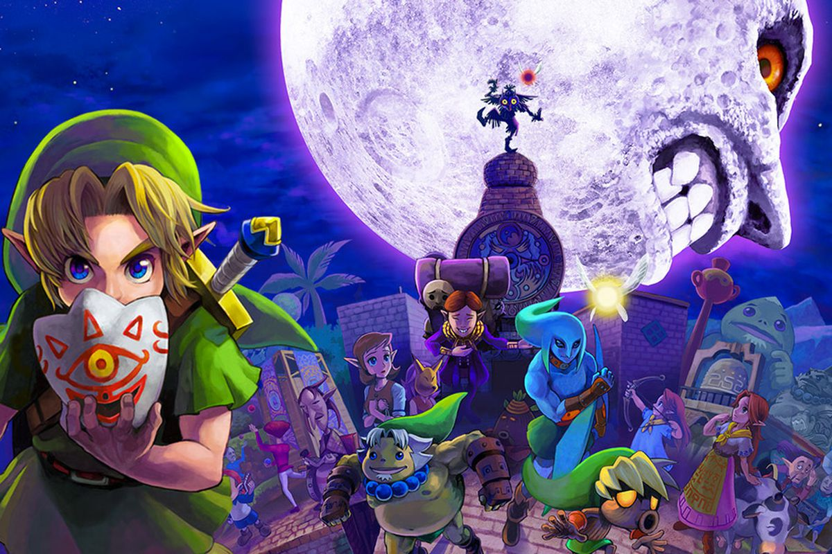 Majora's Mask is better than Ocarina of Time - Polygon