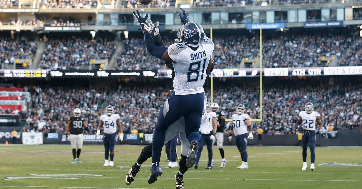 Turning point play of Week 14: Titans take a 35-21 lead on Tannehill's third touchdown pass