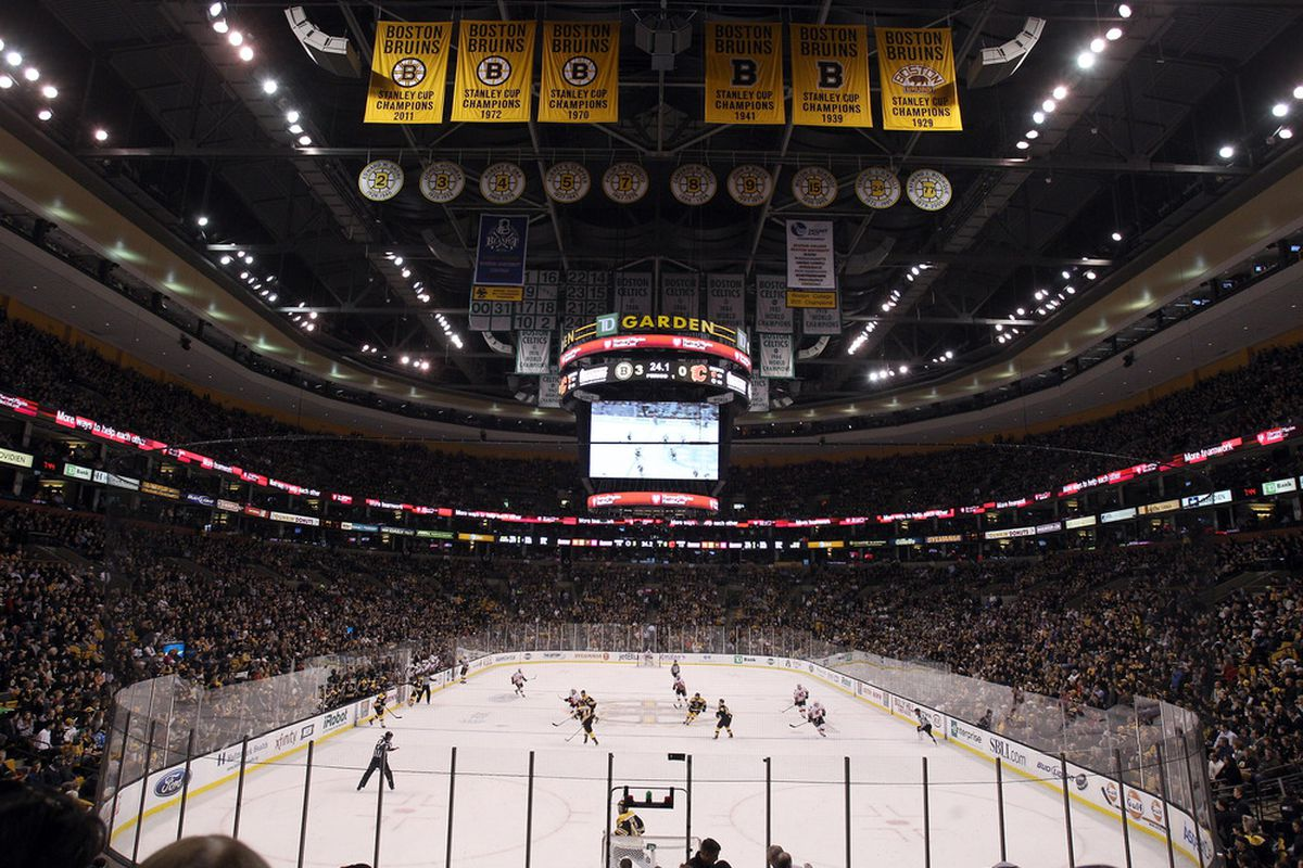 The TD Garden will be home to seven state championship games on Sunday.
