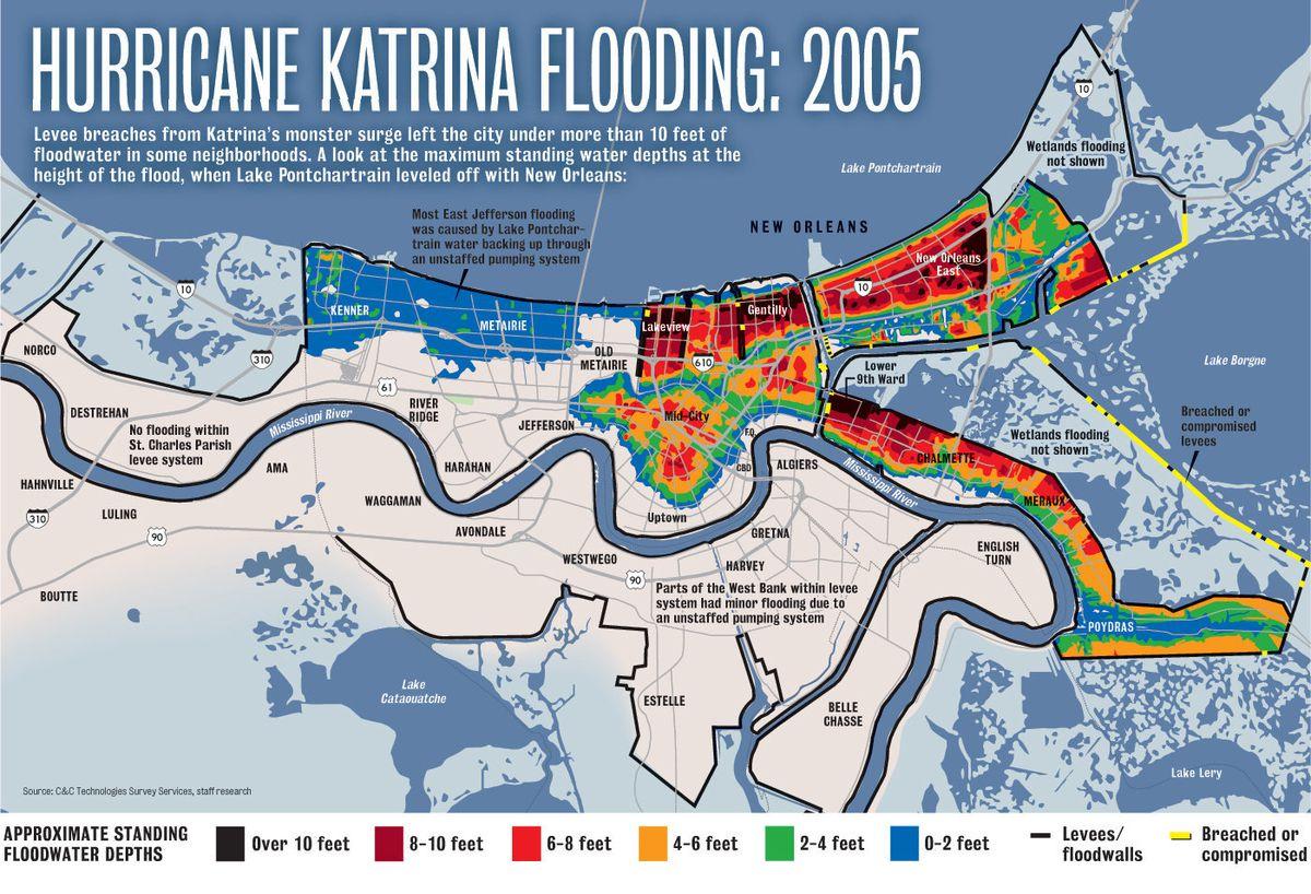 Katrina Flood Map