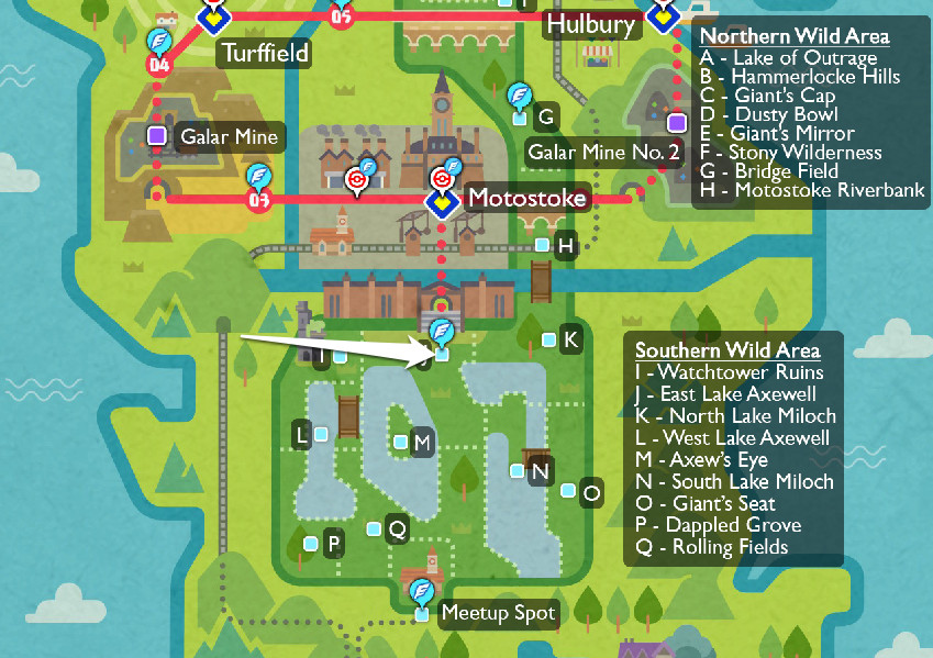 Where to find the Camping King in the Wild Area