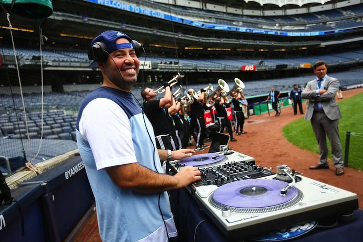 DJ Mode at Yankee Stadium