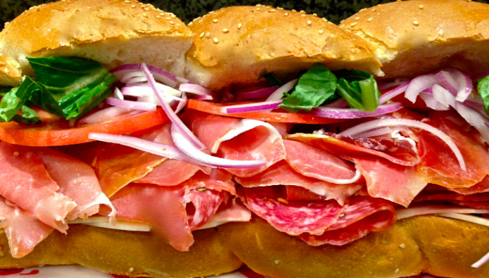 An Italian sub from Bob's