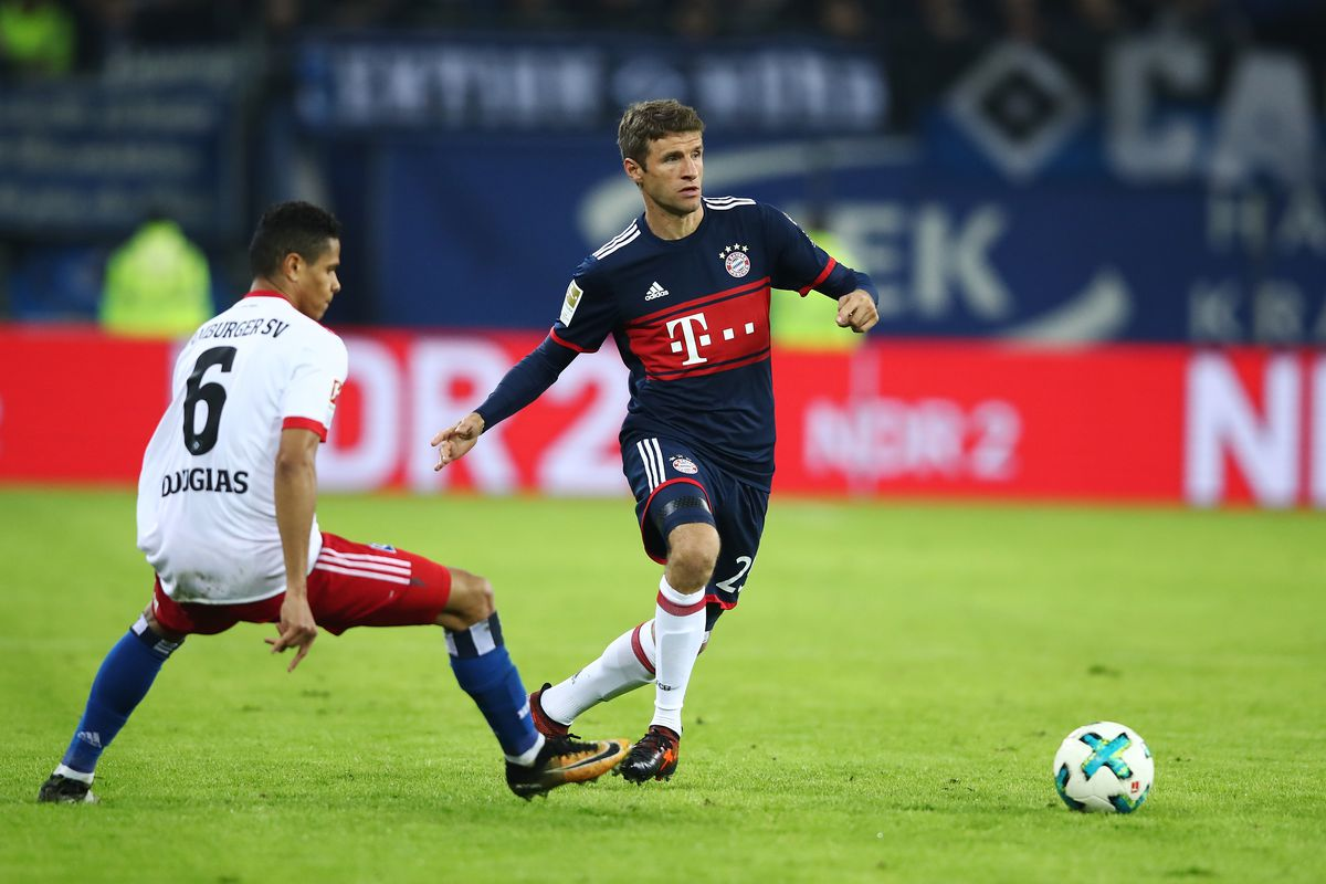 Thomas Müller sidelined by a muscle tear for 5 6 weeks Bavarian