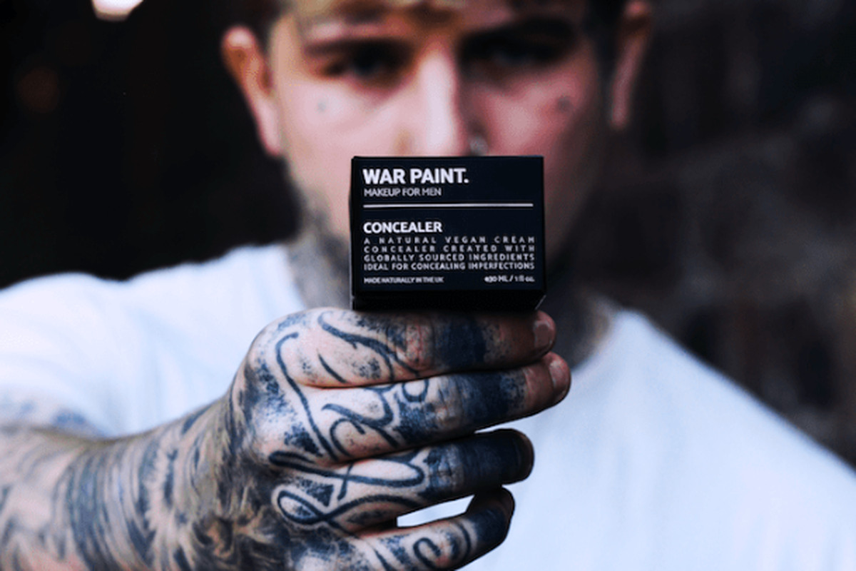 War Paint Makeup For Men Uses Toxic Masculinity To Sell Foundation