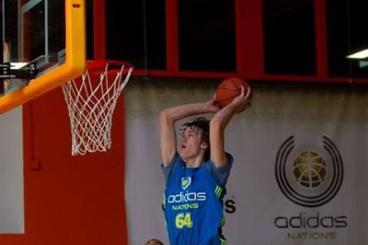 Stephen Zimmerman was one of the many Ohio State targets at Adidas Nations over the weekend.