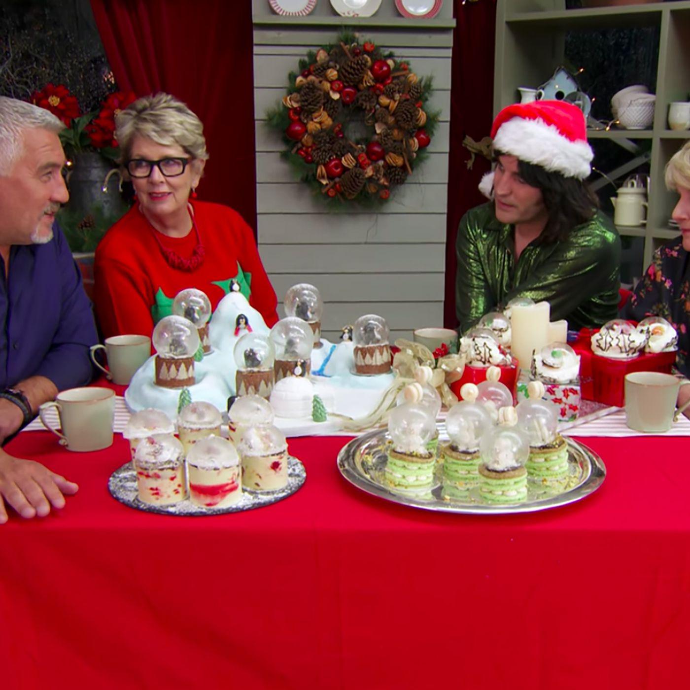 Great British Baking Show Holidays Cast Rob Billington And More
