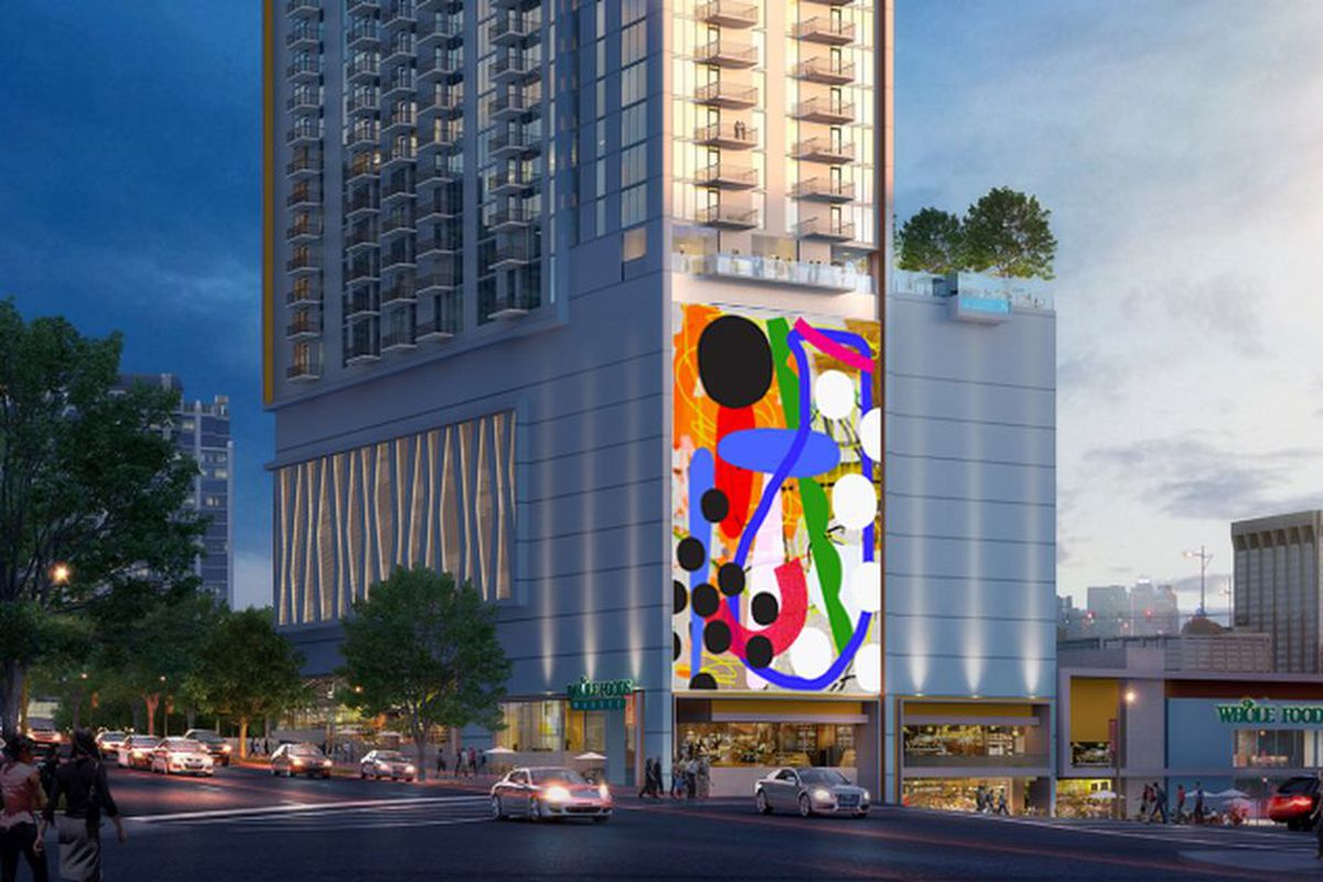 As seen in this colorful rendering, developers The Related Group say ongoing projects like this in Midtown are no cause for alarm.