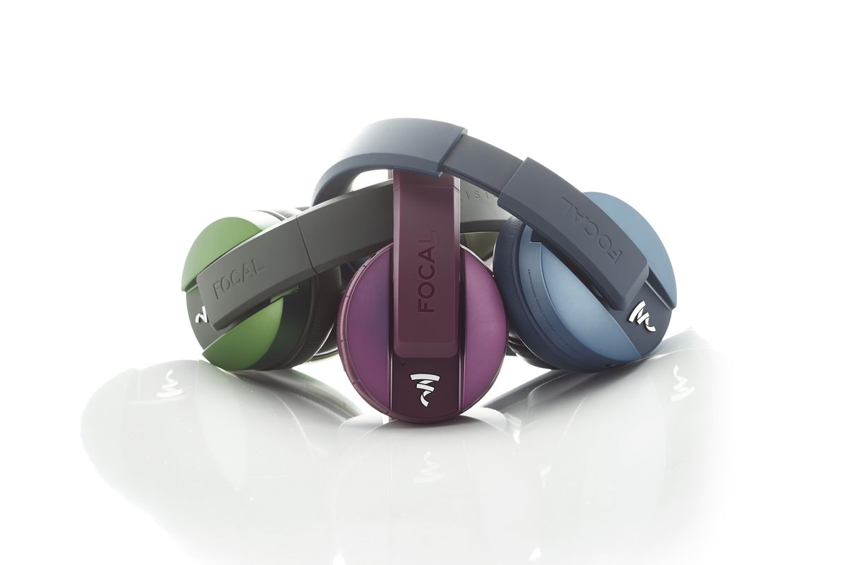 fb4121763cf Focal's Listen Wireless headphones now come in olive, purple, and blue