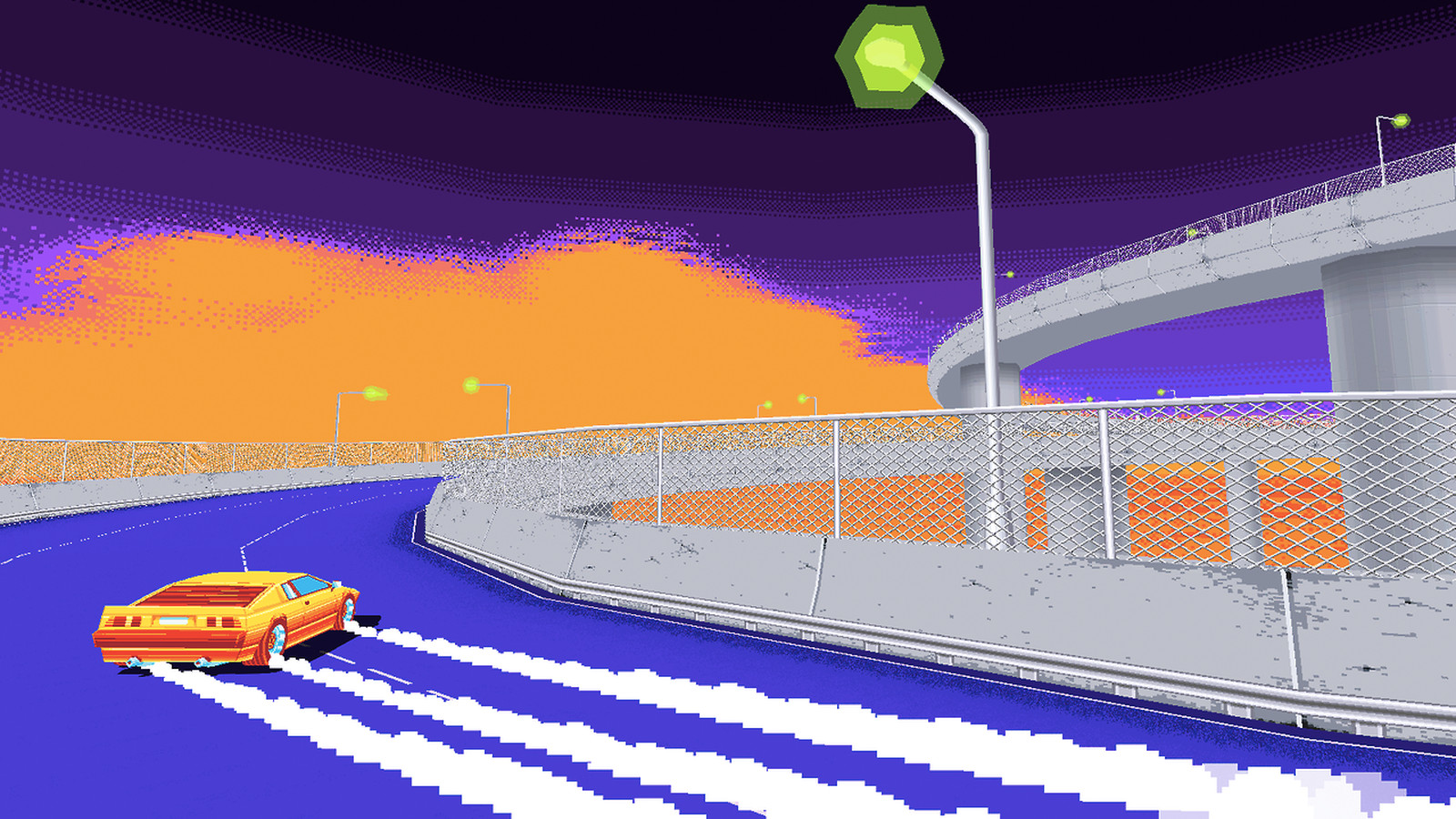 Drift Stage Is An 80s Style Game About Drifting And It
