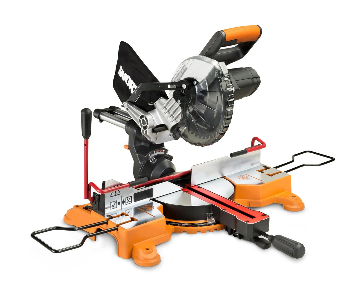 Tool Lab: Sliding Compound-Miter Saws, Spring 2021, Worx
