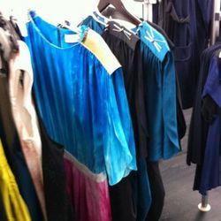 Julie Haus C sample dress with spiky shoulders