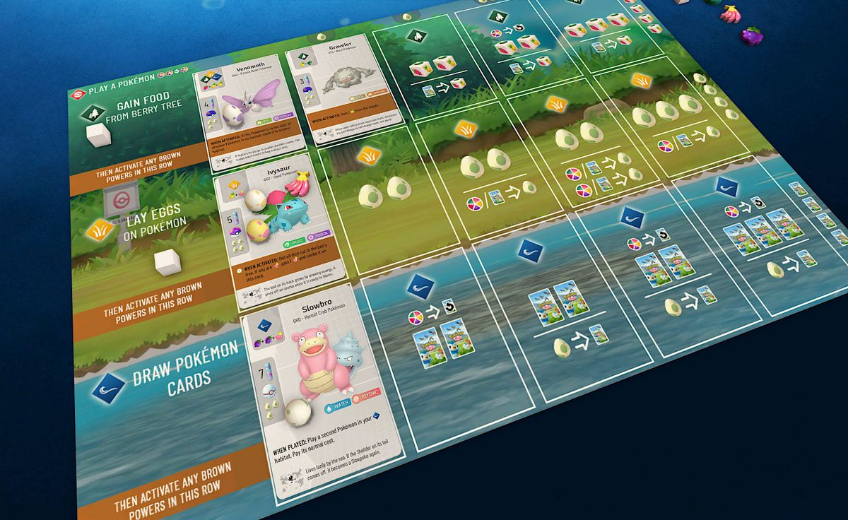 A pokemon board for wingspan