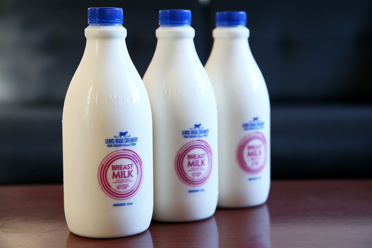 Lewis Road Creamery's New 'Breast Milk' Comes Under Scrutiny With Breastfeeding Advocates