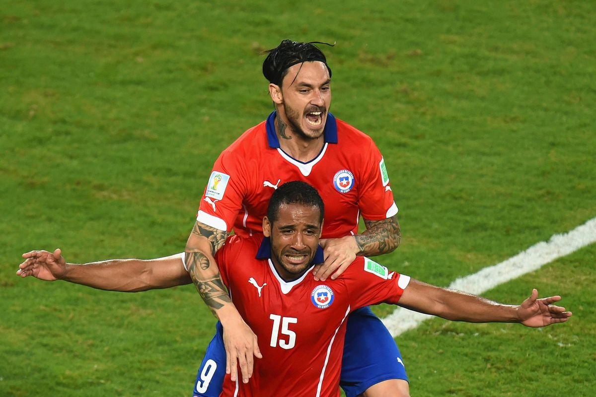 Chile can secure a place in the Final 16 with a win over Spain.
