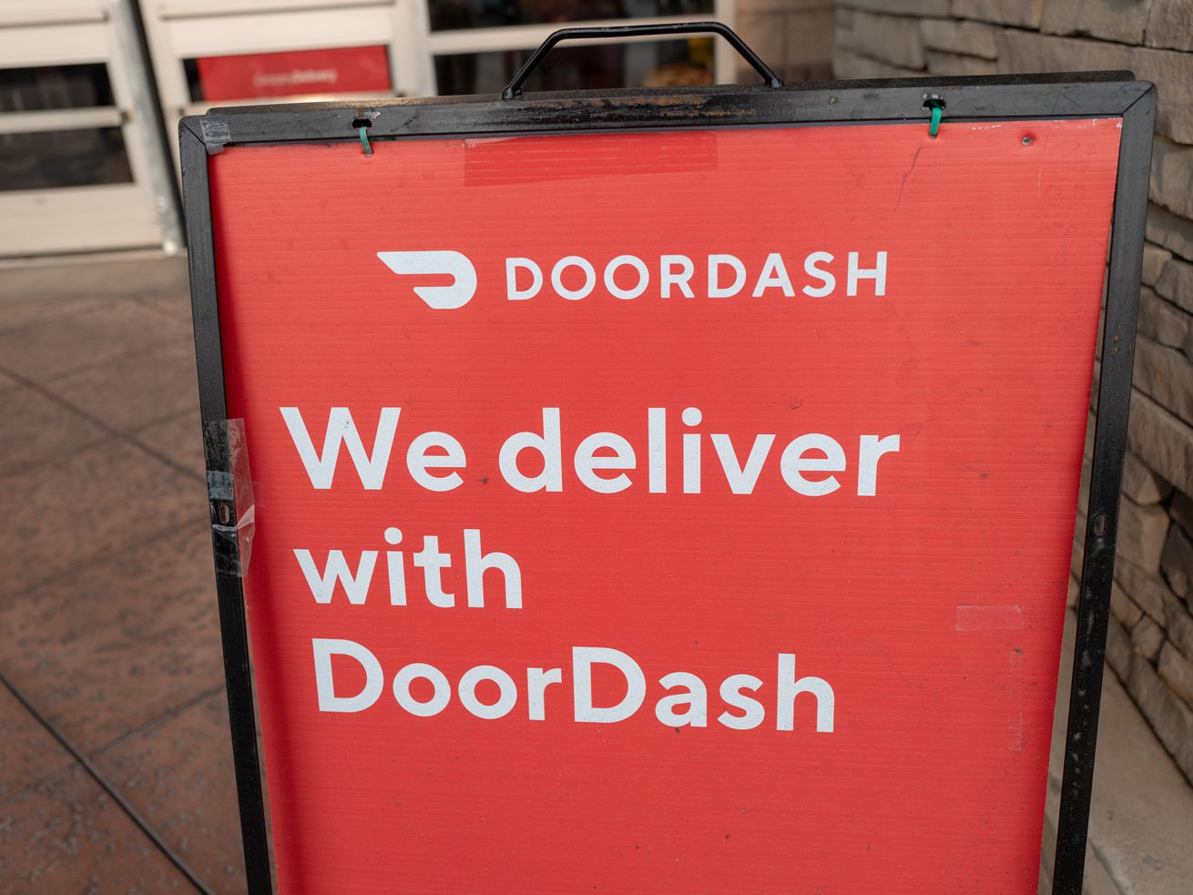 We Deliver With Doordash