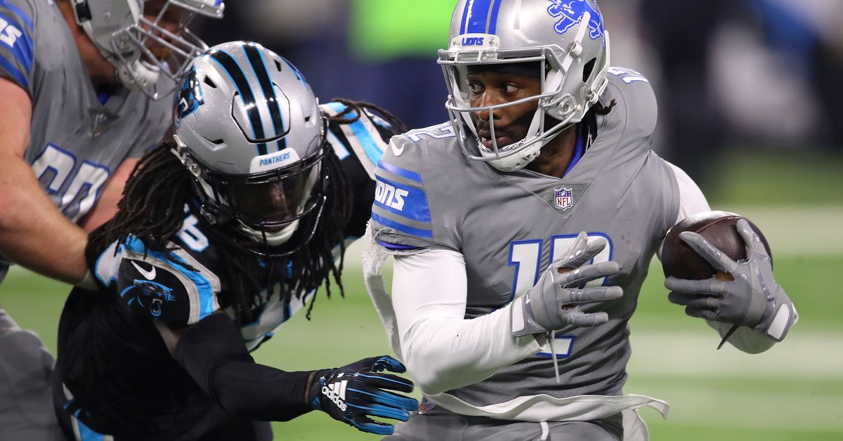 Detroit Lions vs. Carolina Panthers second half open thread