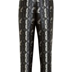 """<a href=""""https://www.theoutnet.com/product/418085"""">Grace printed silk pants by Peter Pilotto</a>, $151.50 (were $1,010)"""