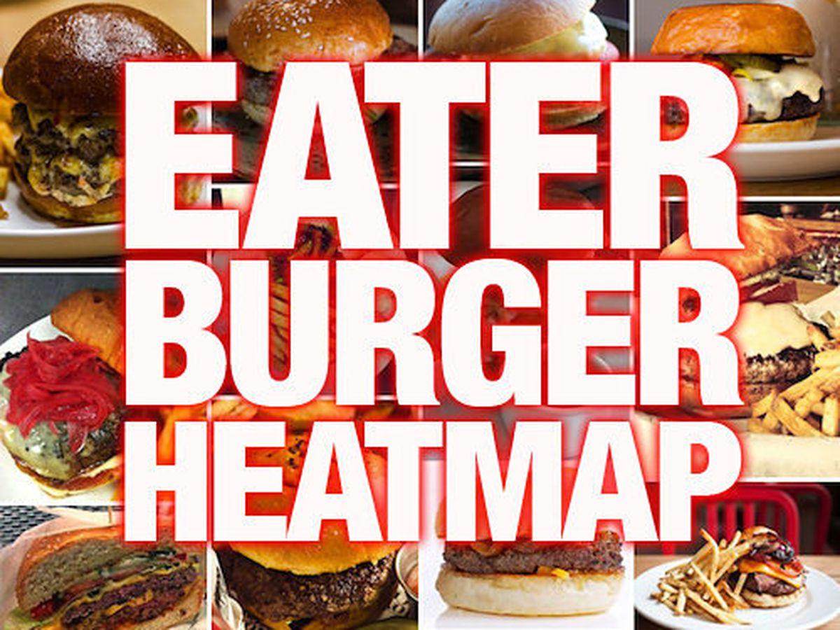 The Hottest Burgers In The US Right Now - Burger map us