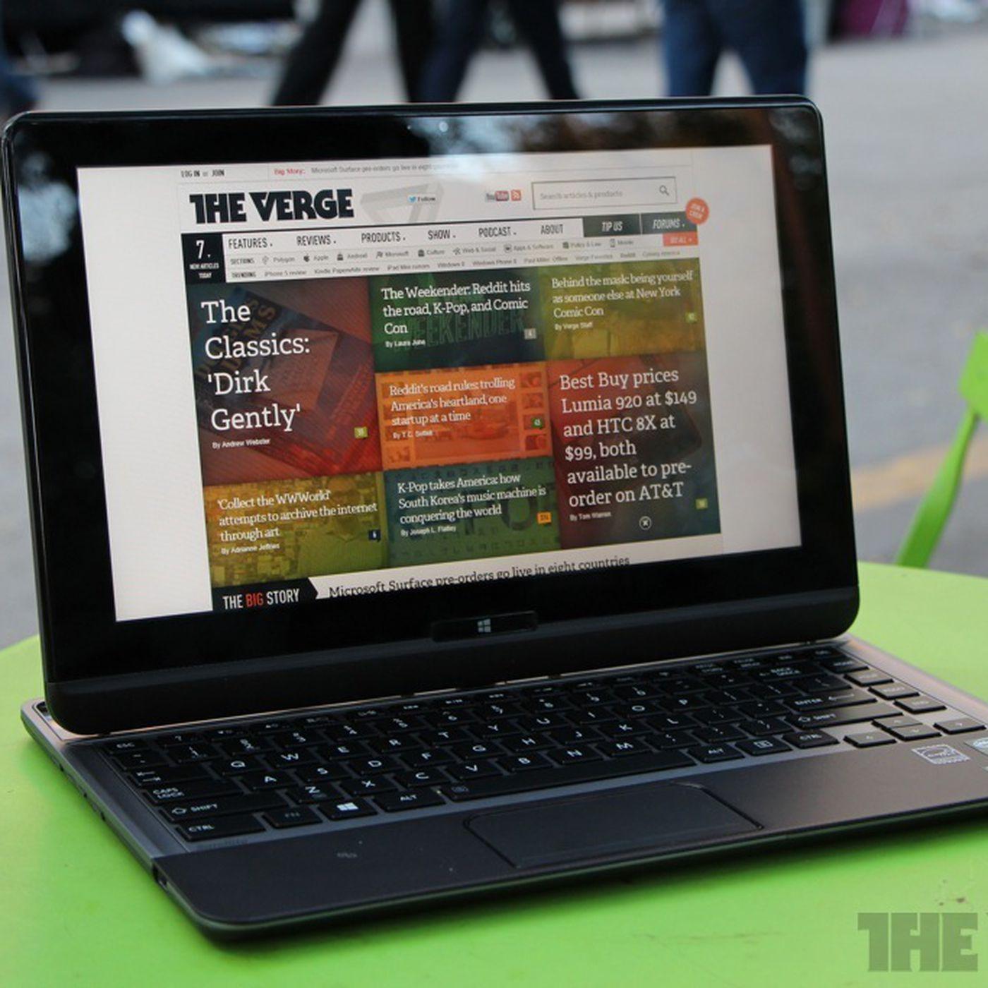 Toshiba Satellite U925t review - The Verge