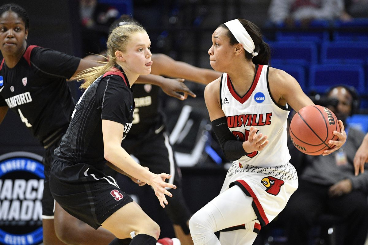 Notre Dame Women Advance To Basketball Sweet 16: NCAA Tournament Sweet 16: Louisville Overpowers Stanford