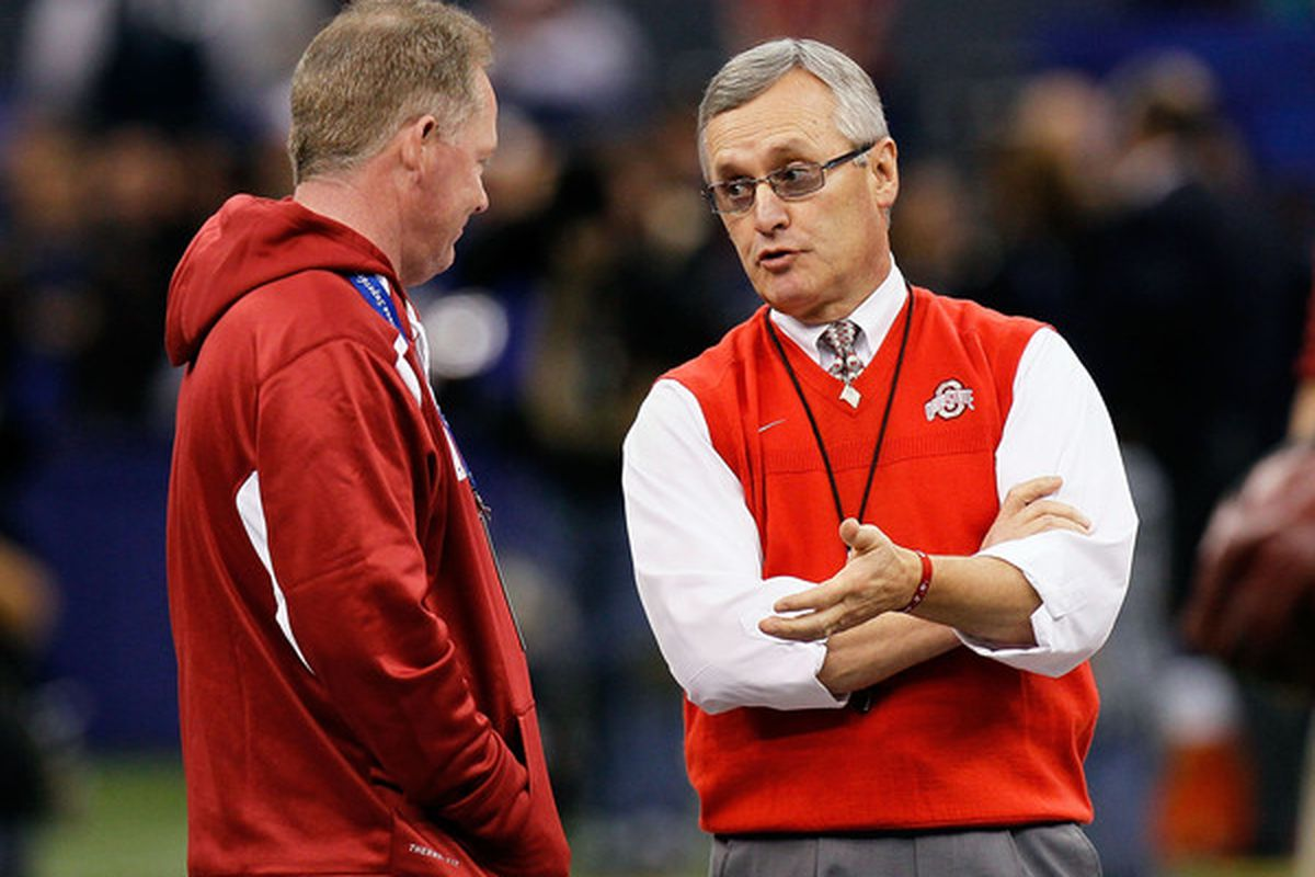 'No, see, first you have to get the athletics director to say he hopes you don't fire him ... '