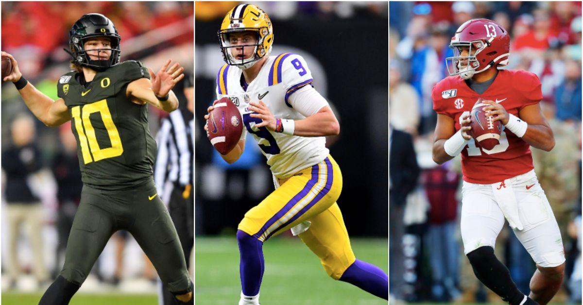 Meet the quarterbacks in the 2020 NFL Draft