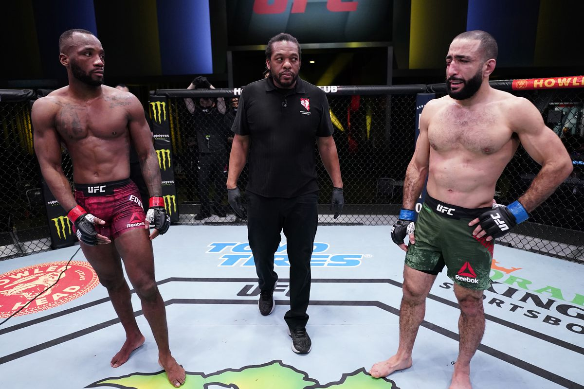 Belal Muhammad unloads on Leon Edwards - 'If you're happy with the result, just hang up your gloves' - MMAmania.com