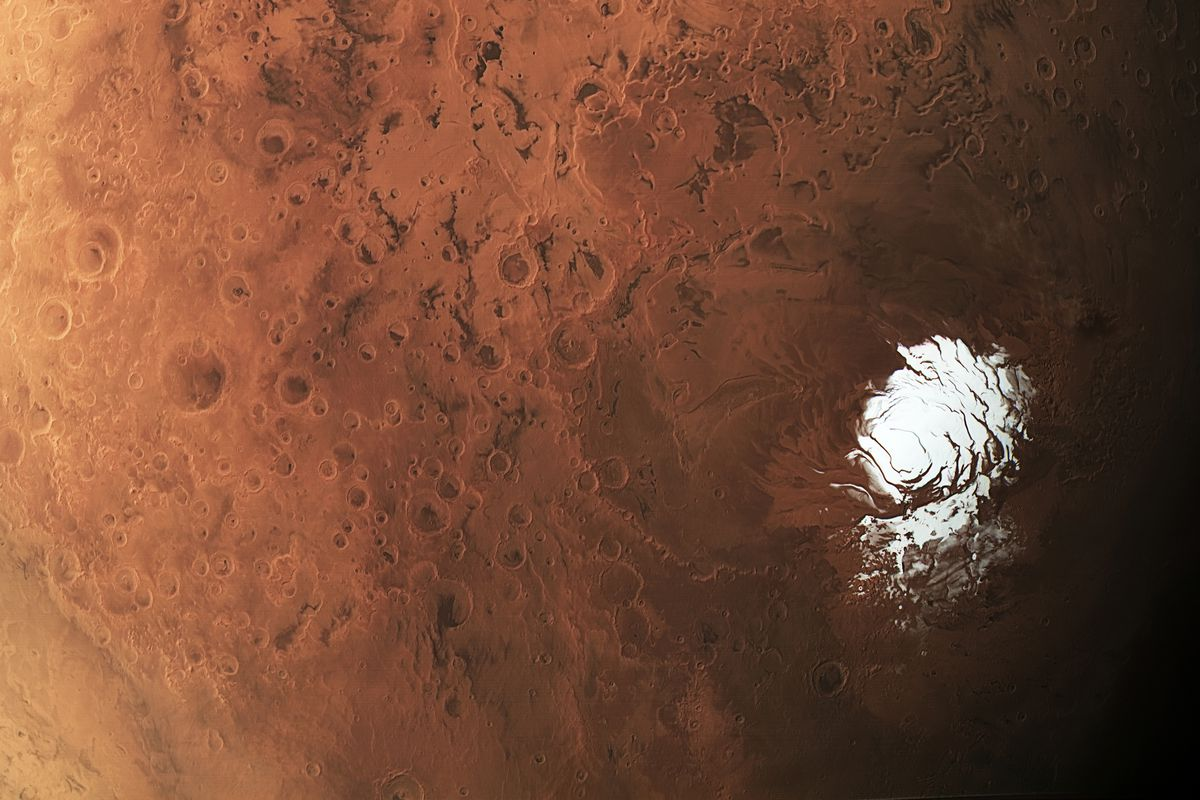 Could this be a home of Mars salty lake organisms?