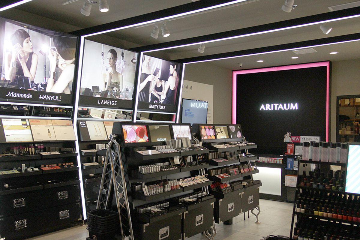 Aritaum's Focus Plaza boutique.
