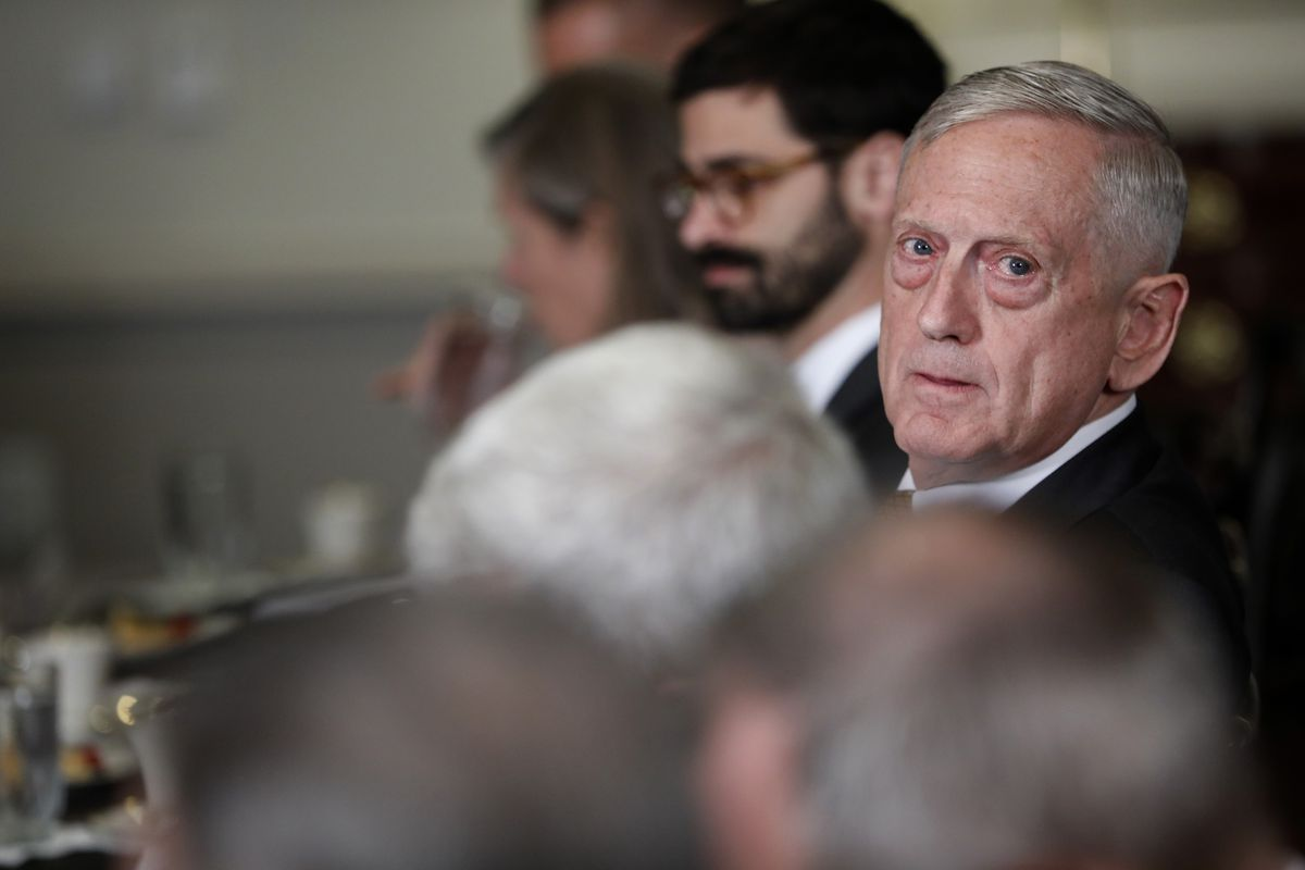 Defense Secretary Mattis grants one special interview to high school student