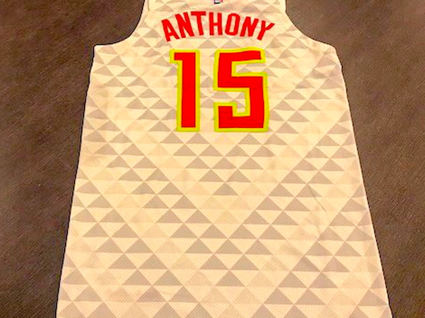 wholesale dealer 36e1a 0874c The Hawks made Carmelo Anthony a jersey they paid him $25.5 ...