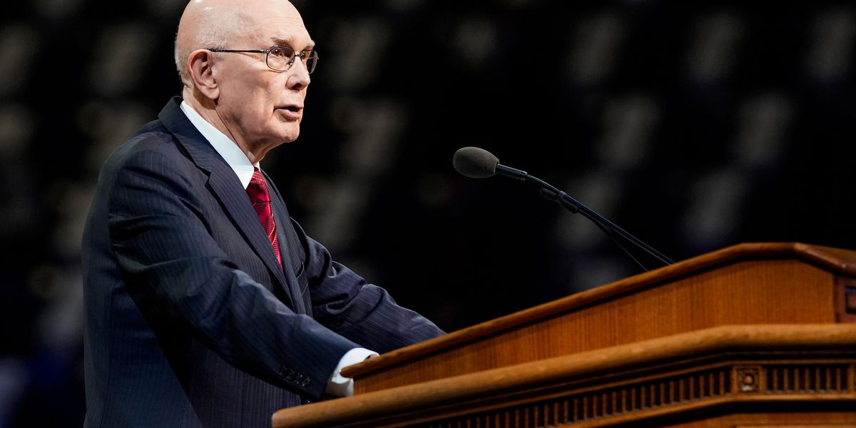 President Oaks at BYU: Black lives matter is a universally acceptable message