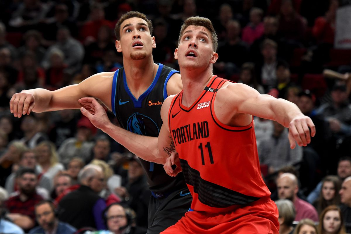 Blazers Eke Out Win Over Mavericks Despite an incredible game-tying shot  from Luka Doncic at the end of regulation 63656d731