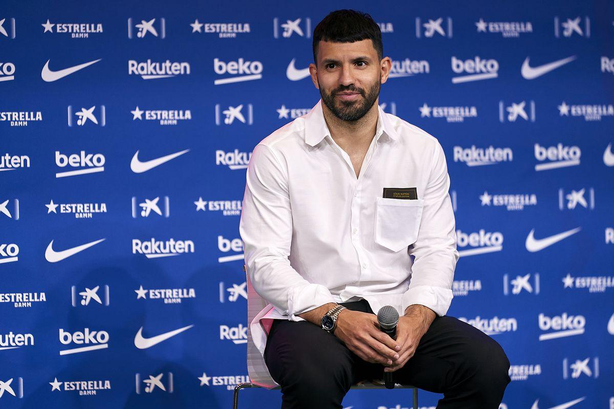 FC Barcelona Sign Sergio Aguero