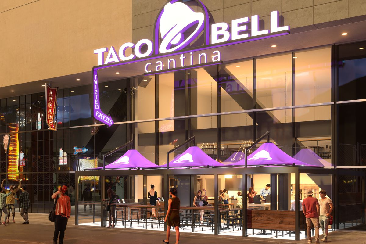 Taco Bell Cantina Really Is Coming To Harmon Corner