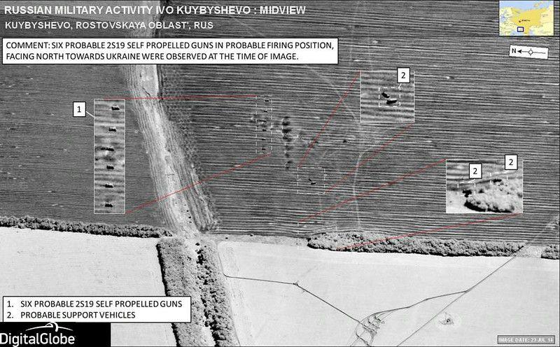nato russia invasion satellite pics
