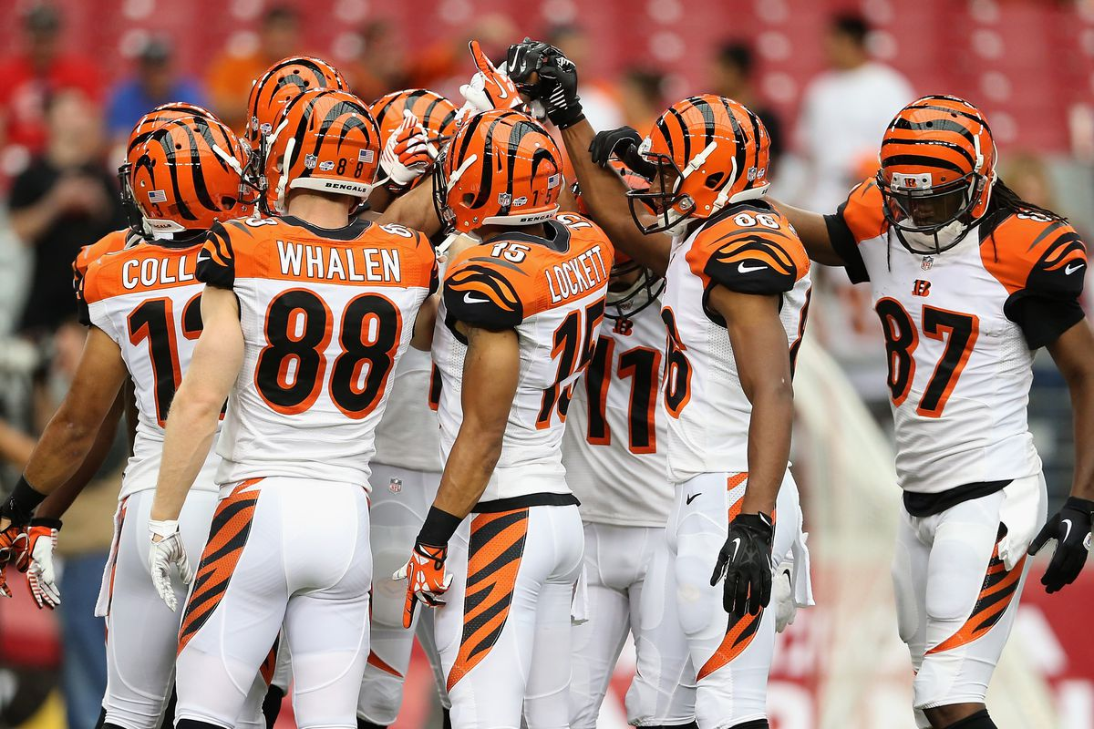 The last game Whalen was in a Bengals uniform.