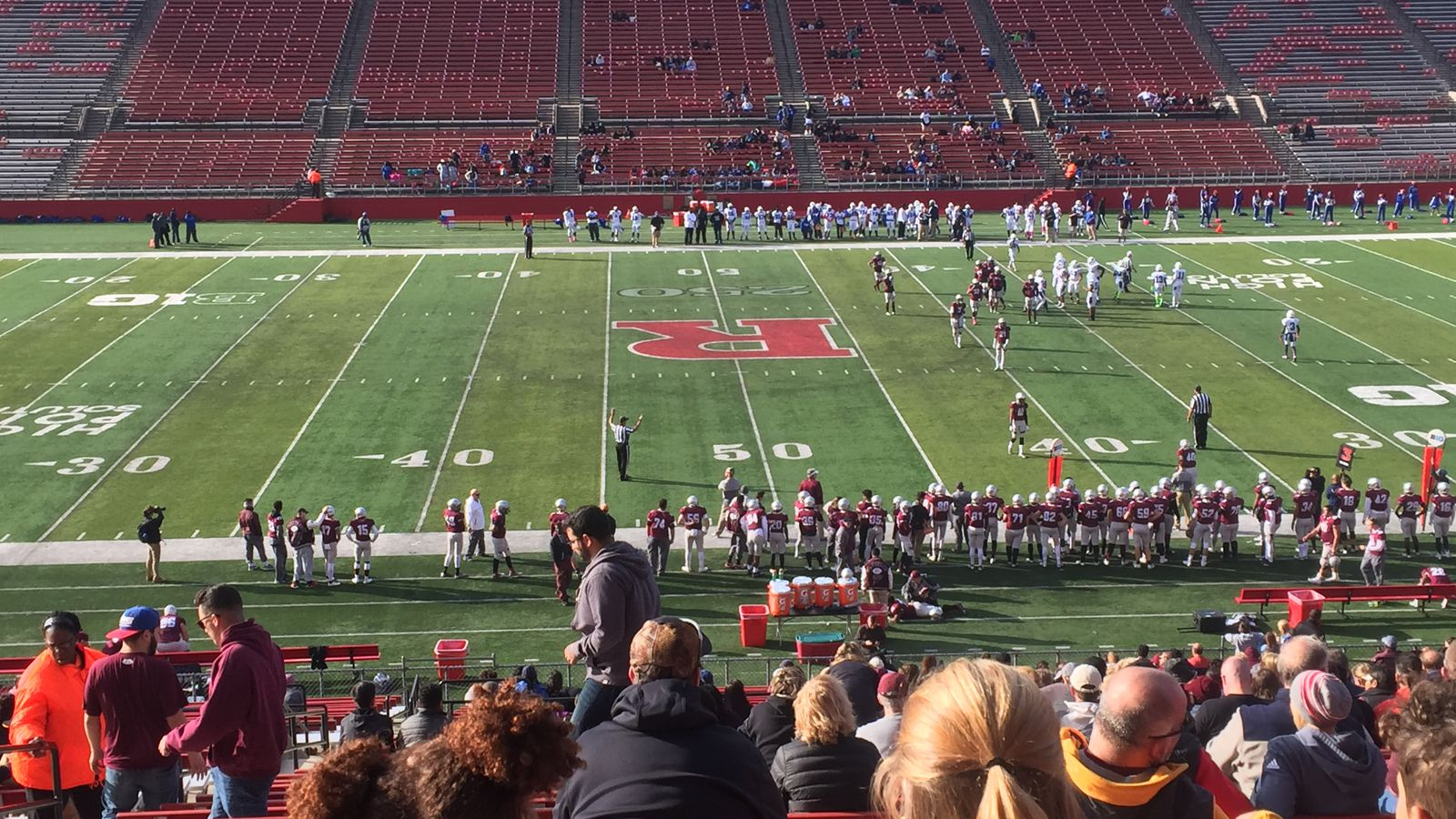 Rutgers Football Commit John Lewis Leaves Game With Injury As St Peters Prep Rolls On The Banks