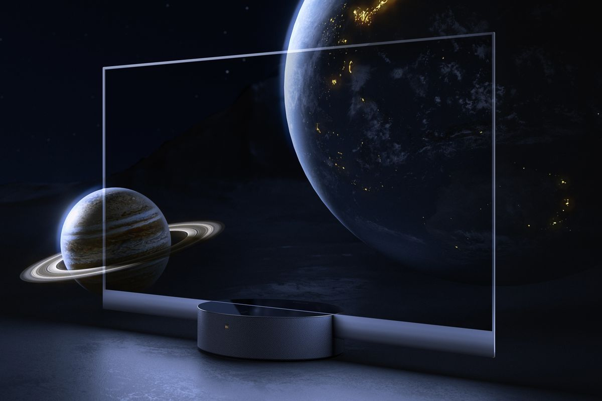 Xiaomi's see-through OLED TV is a transparent attempt at attention, and  it's working - The Verge