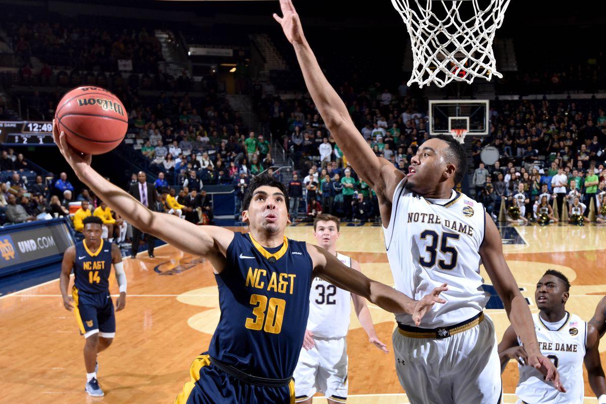 NCAA Basketball: No.Carolina A&T at Notre Dame