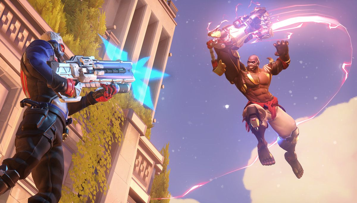 Doomfist is the inexorable march of time, and Soldier 76 is your rank.