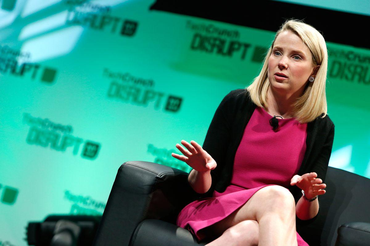 Yahoo CEO Marissa Mayer.