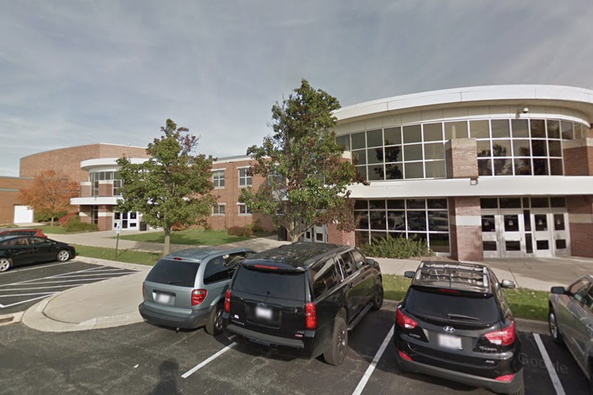 Glenbrook South High School, 4000 W. Lake Ave. in Glenview.