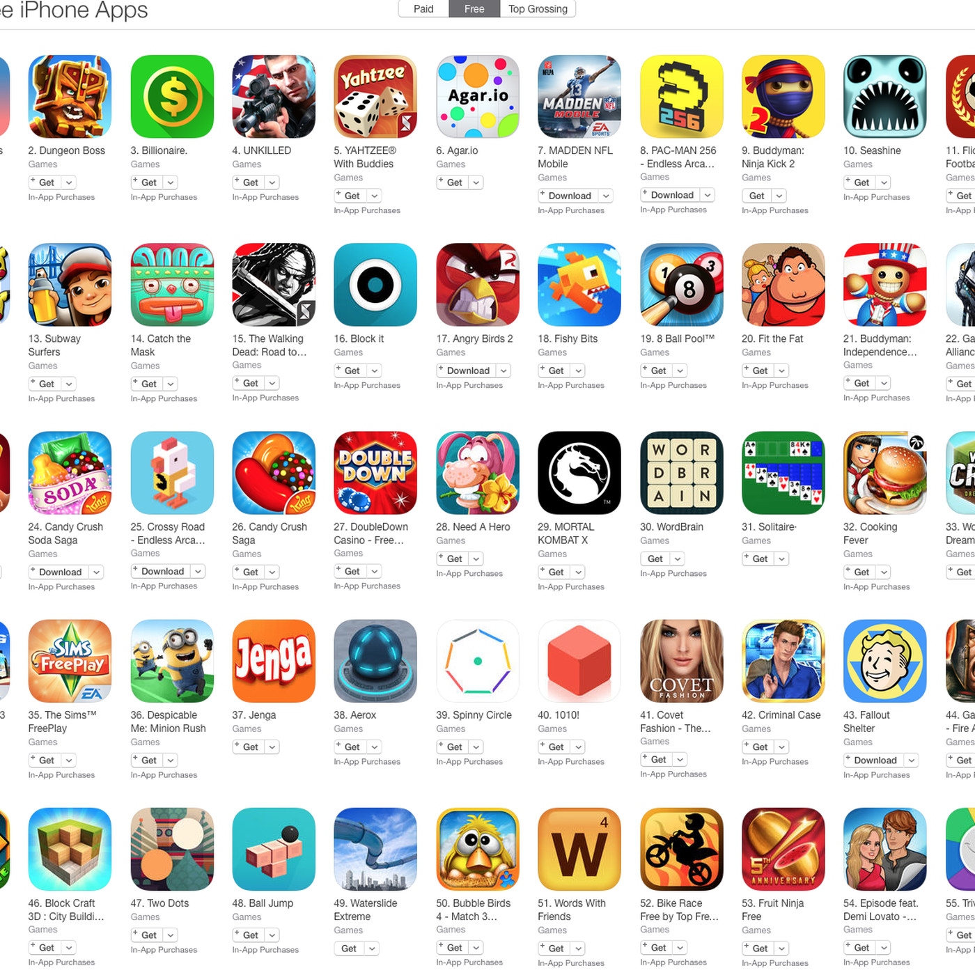 On the app store