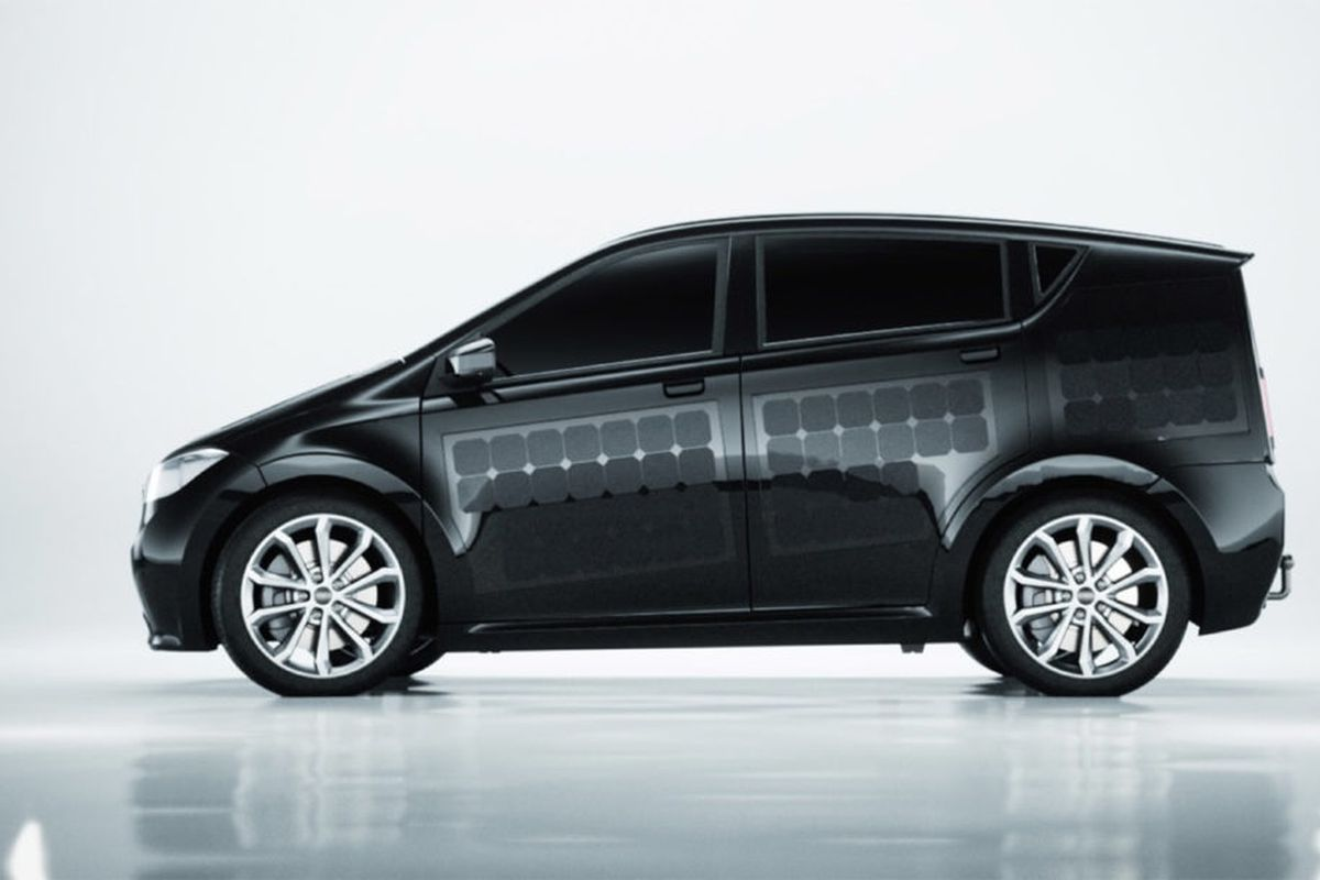 solar-powered car from Germany