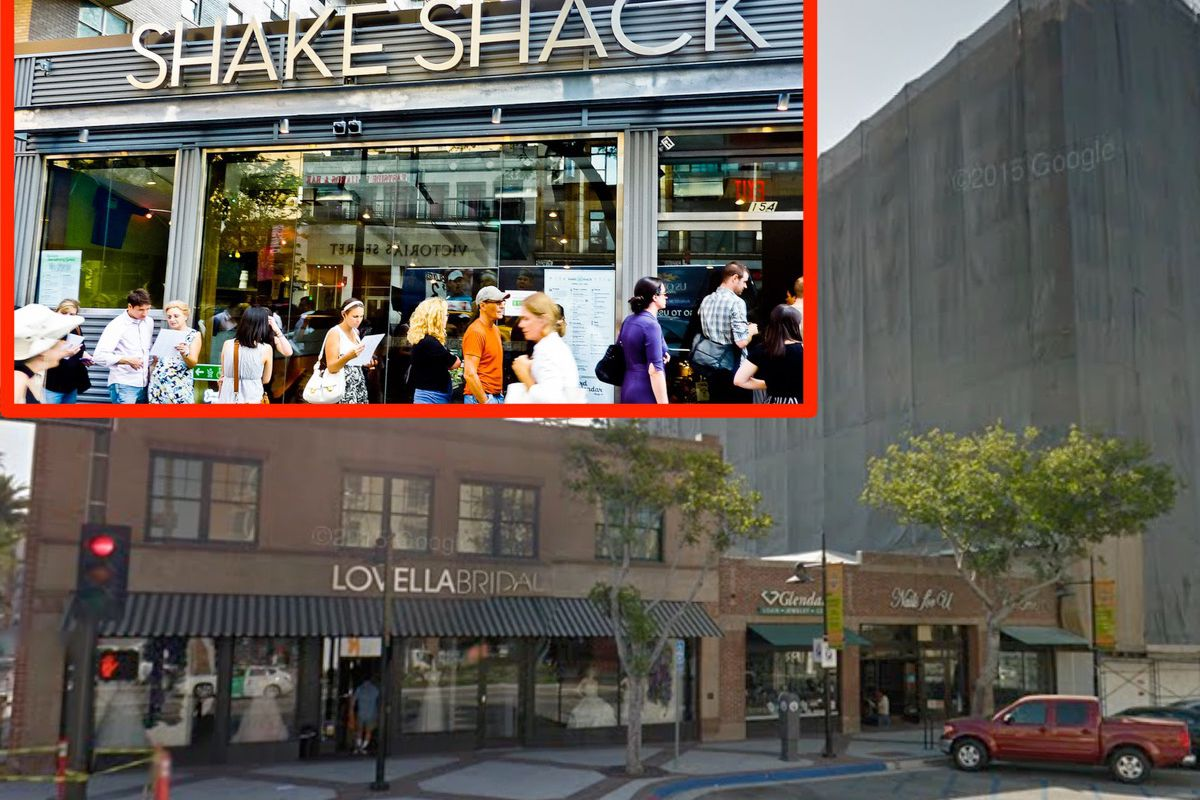 Americana At Brand >> Shake Shack S Second La Location Lands In Glendale Across The