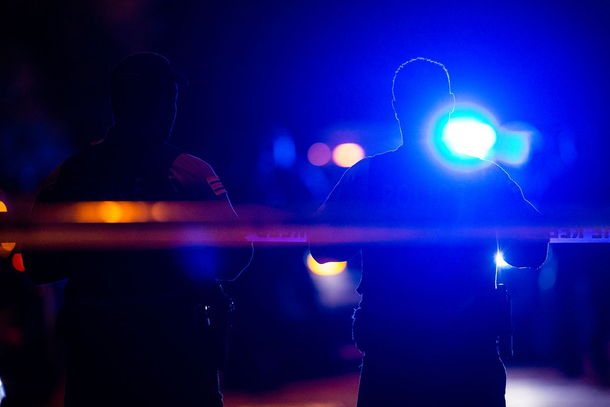 A man was killed and a woman wounded in a shooting March 22, 2021, in Bronzeville.
